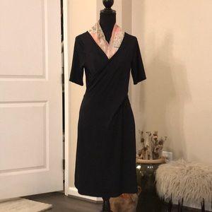 Talbots Jersey Silk wrap dress